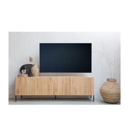 TV-meubel in eik