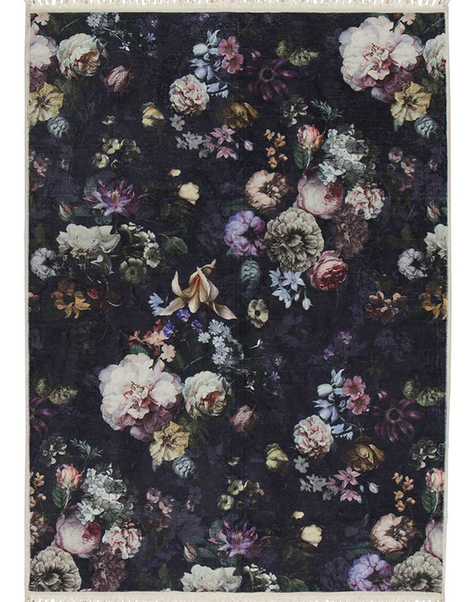 Essenza Vloerkleed Fleur Donkerblauw (3 formaten)