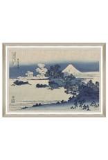 Mind the Gap Framed Art 100 x 70 cm - Shichiri Ga Hama by Hokusai