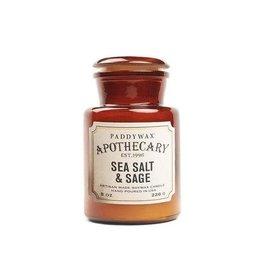 Paddywax Geurkaars sojawas - Sea Salt & Sage 226g