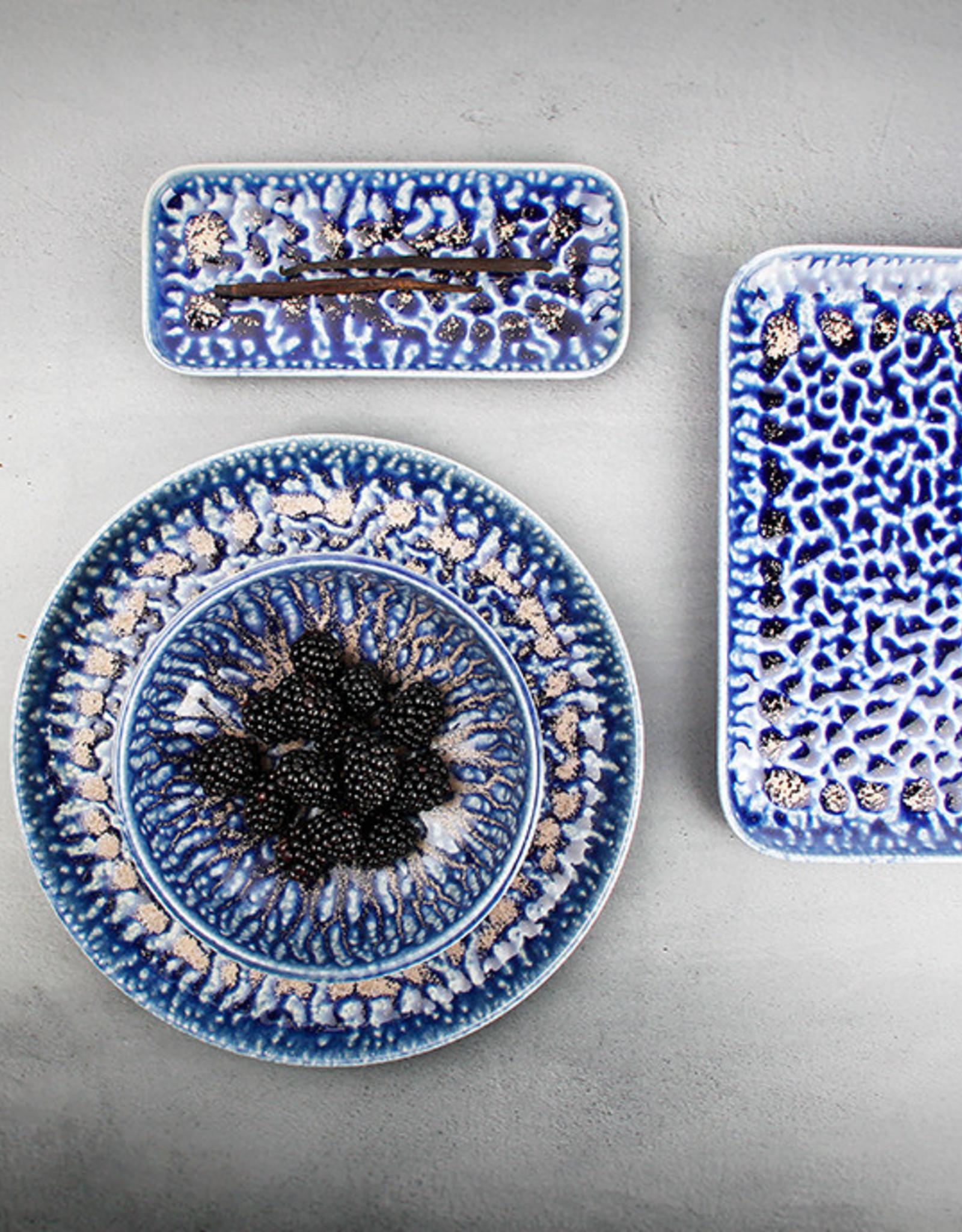 Schaaltje Greece Cobalt 22 x 10 cm