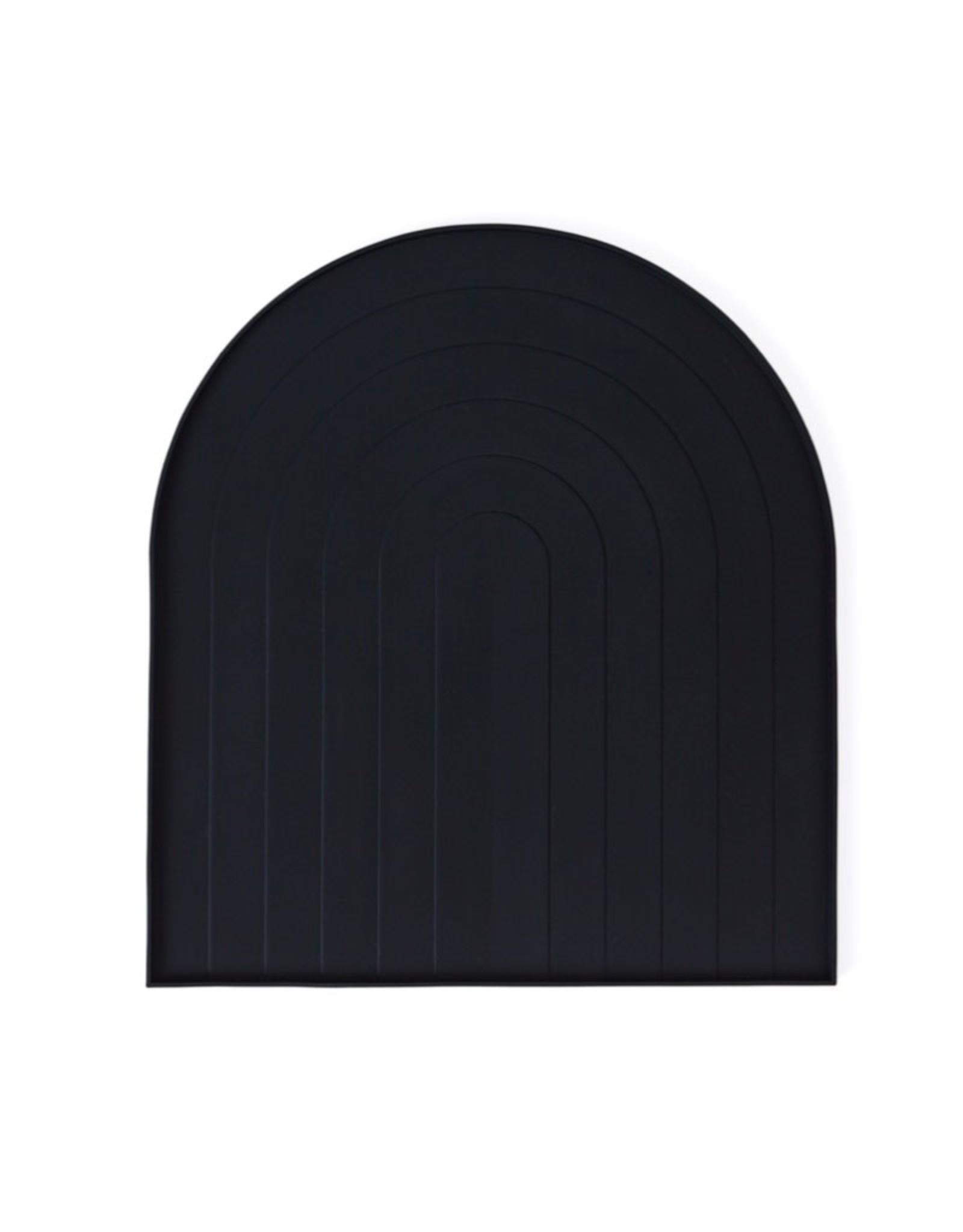 Tray voor afdruiprek - zwart