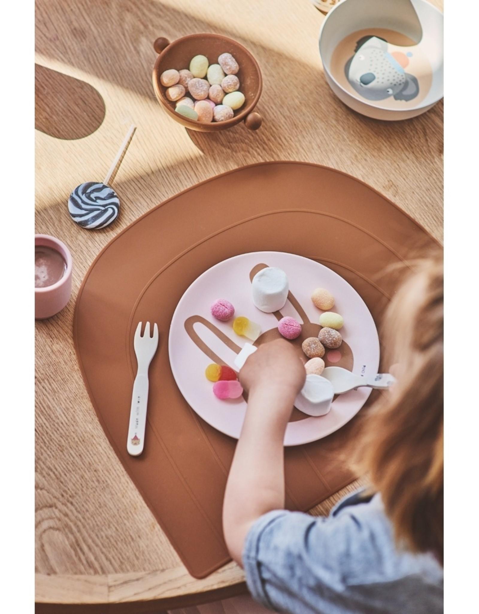 Oyoy Placemat Rainbow - caramel