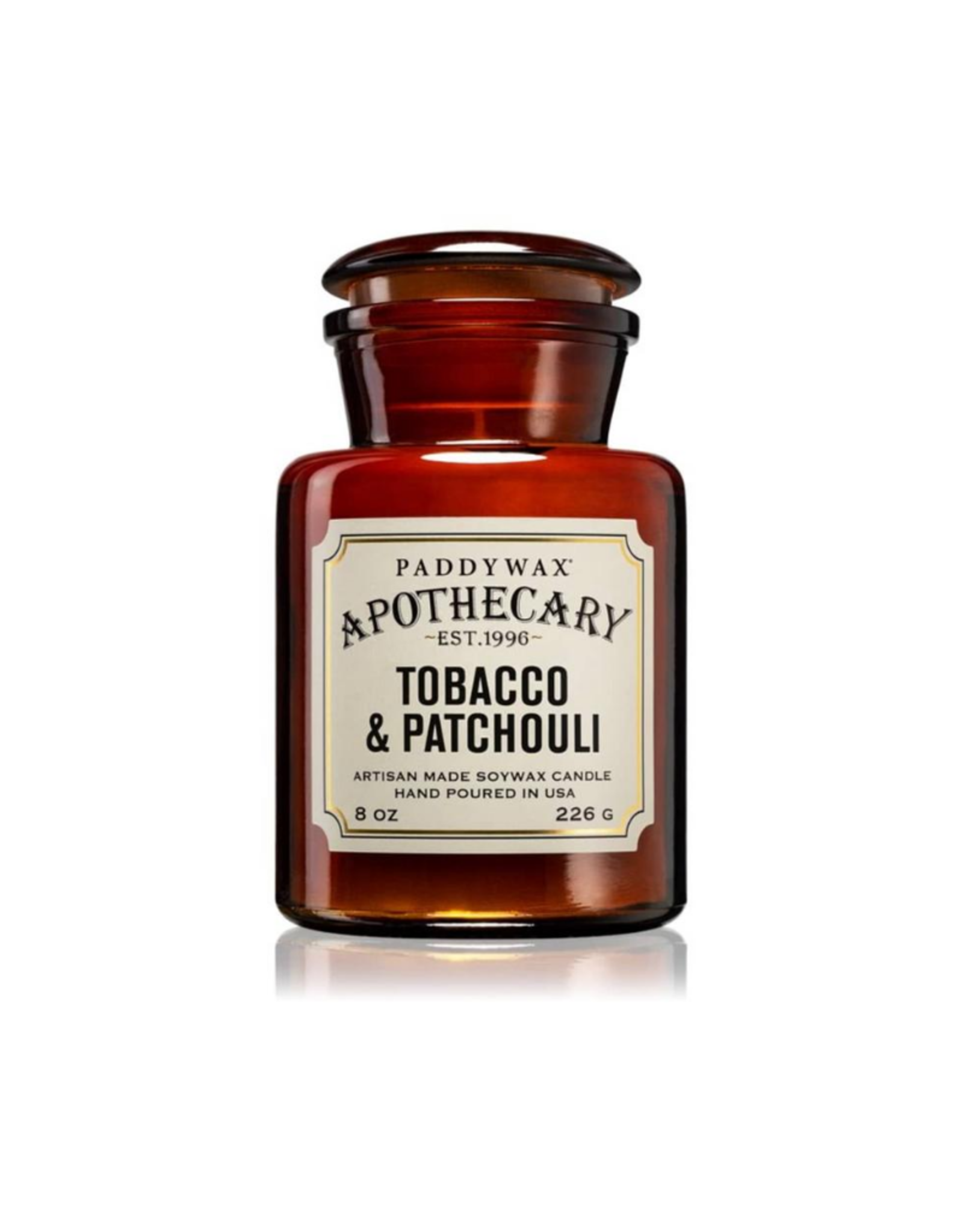 Paddywax Geurkaars sojawas - Tobacco & Patchouli 226g