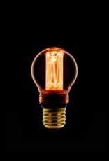 LED Lamp Kogel kooldraad dimbaar -  Amber/Goud E27