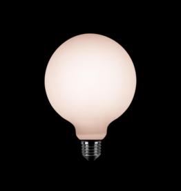 LED Lamp Globe Mat Opaal 12,5 cm - 3 stappen dimbaar