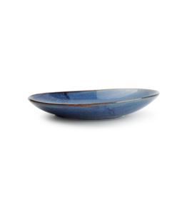 F2D Diep bord 30x21xH3,7/5,5cm blue Nova