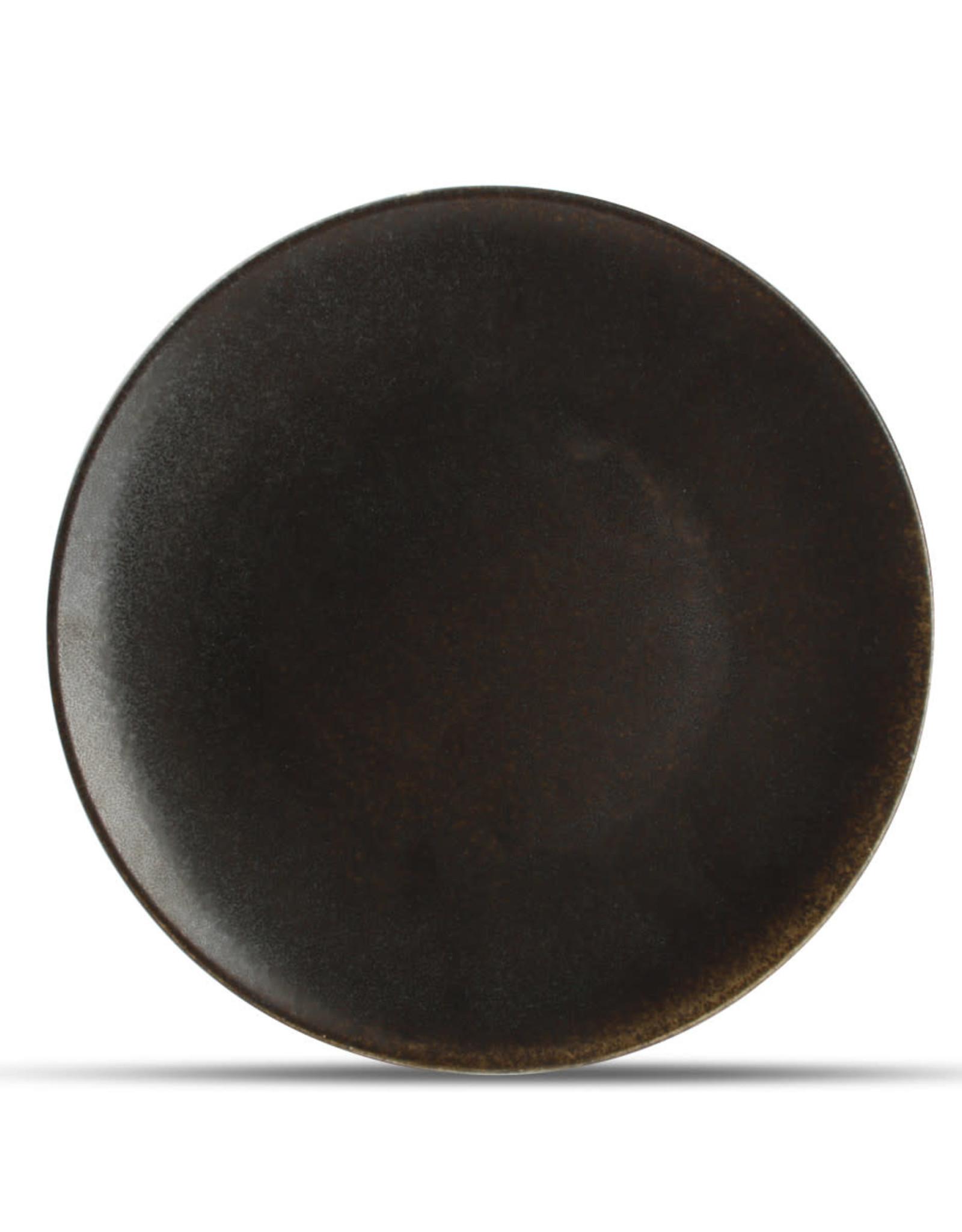 Bord Ø 27 cm - Charcoal ash