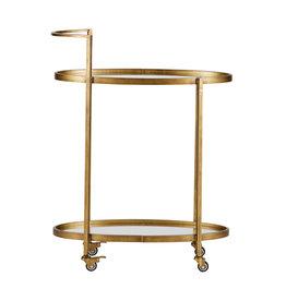 Trolley/Bijzettafel Gold