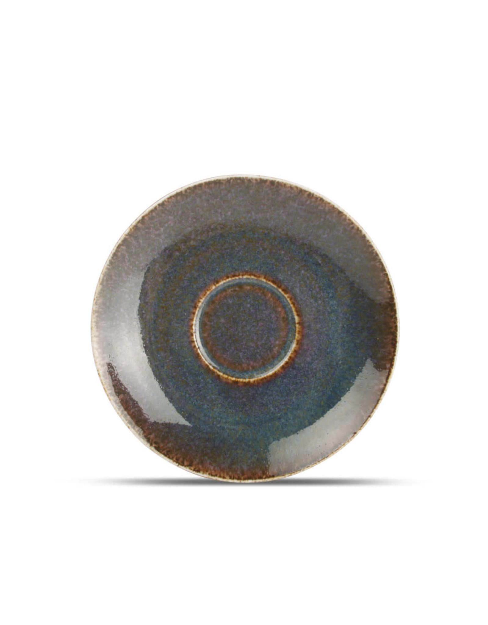 Onderbordje Green Ombre Glaze - bij tas 20 cl