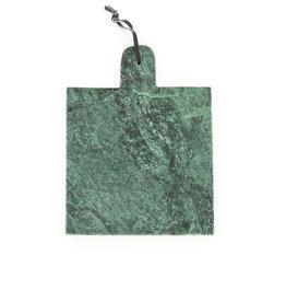 Serveerplank Green Marble
