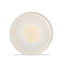 Bord met opstaande rand Ø 20,5 cm Gold Glister