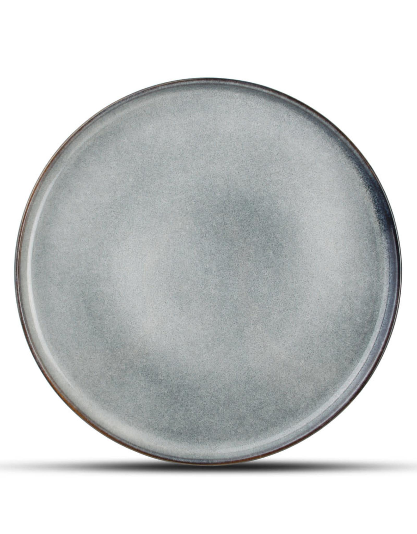 Bord Keramiek grijsblauw Ø27 cm