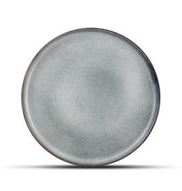 Plat bord grijsblauw Ø27 cm