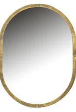 Spiegelkast Oval Gold