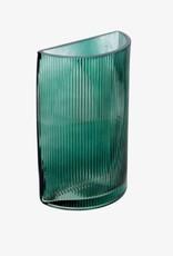 Vaas Rib Glass Green