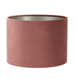 Lampenkap Velvet Dusky Pink Ø25 cm