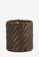 Theelichthouder Stripes