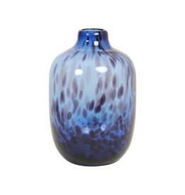 Vaas Ø16 x 25 cm Retro Blue Glass