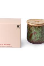 HK Living Geurkaars sojawas - Floral Boudoir 420 ml