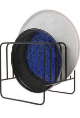 HK Living Bordenhouder/afdruiprek Wire - mat zwart