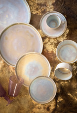 Bord met opstaande rand Ø 22 cm Gold Glister