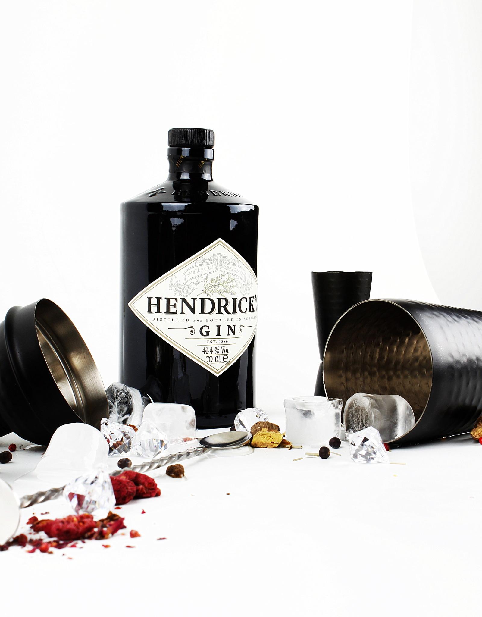 Cocktailshaker Black Hammered