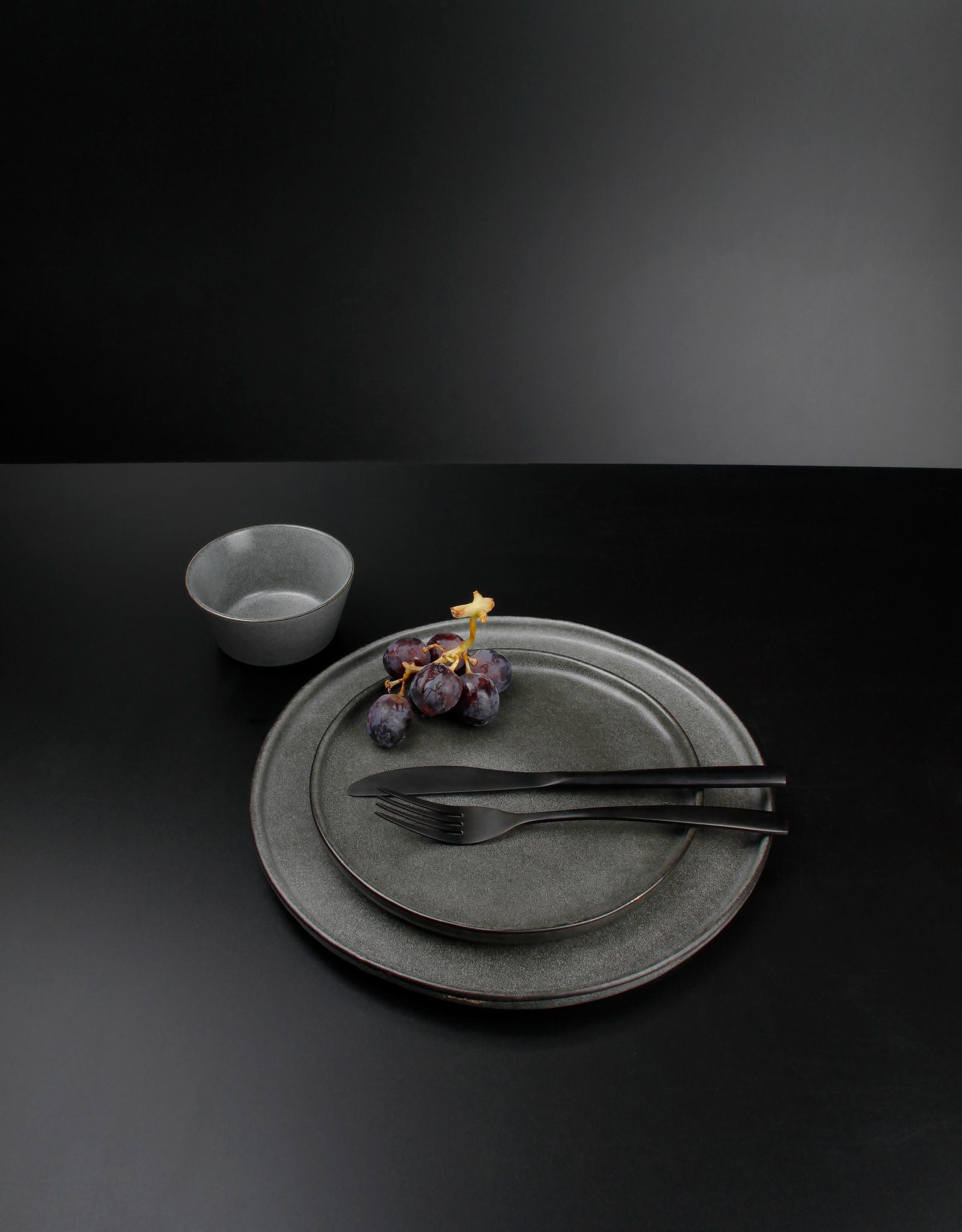Diep bord Grey Stone Ø22 cm