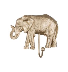 Kapstok/Haak Gold Elephant