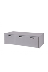 Opbergbank Concrete Grey