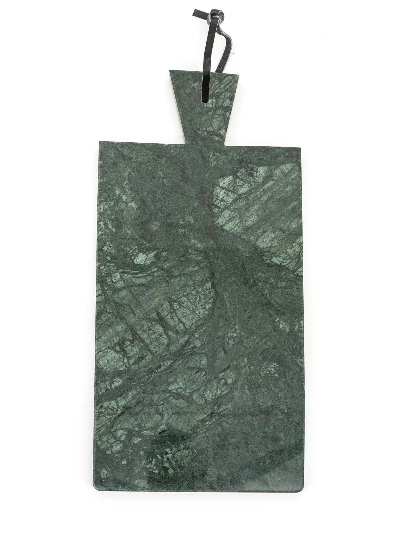 Serveerplank - groen marmer