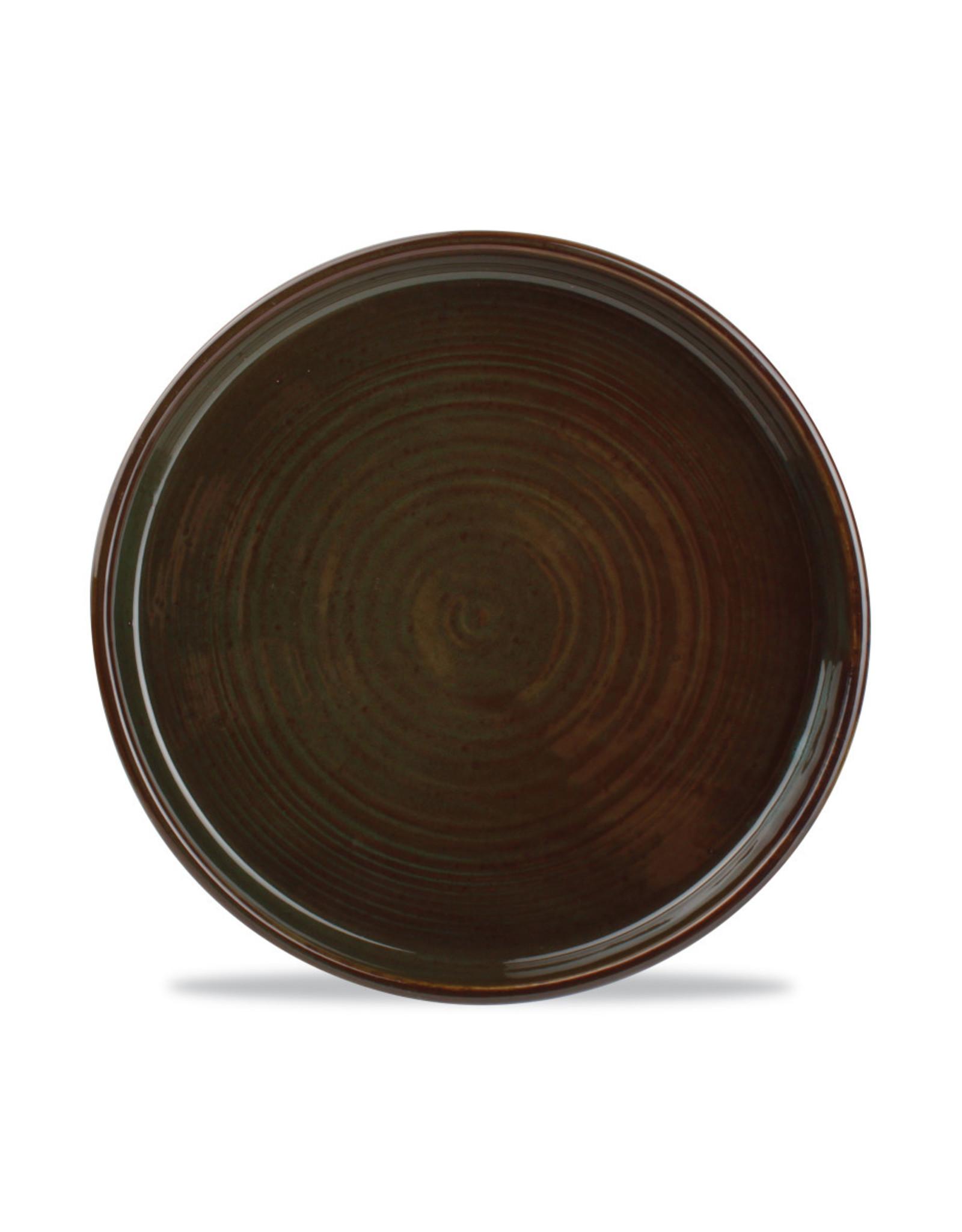 Bord 17.5 x 2.5 cm opst rand Green/Brown