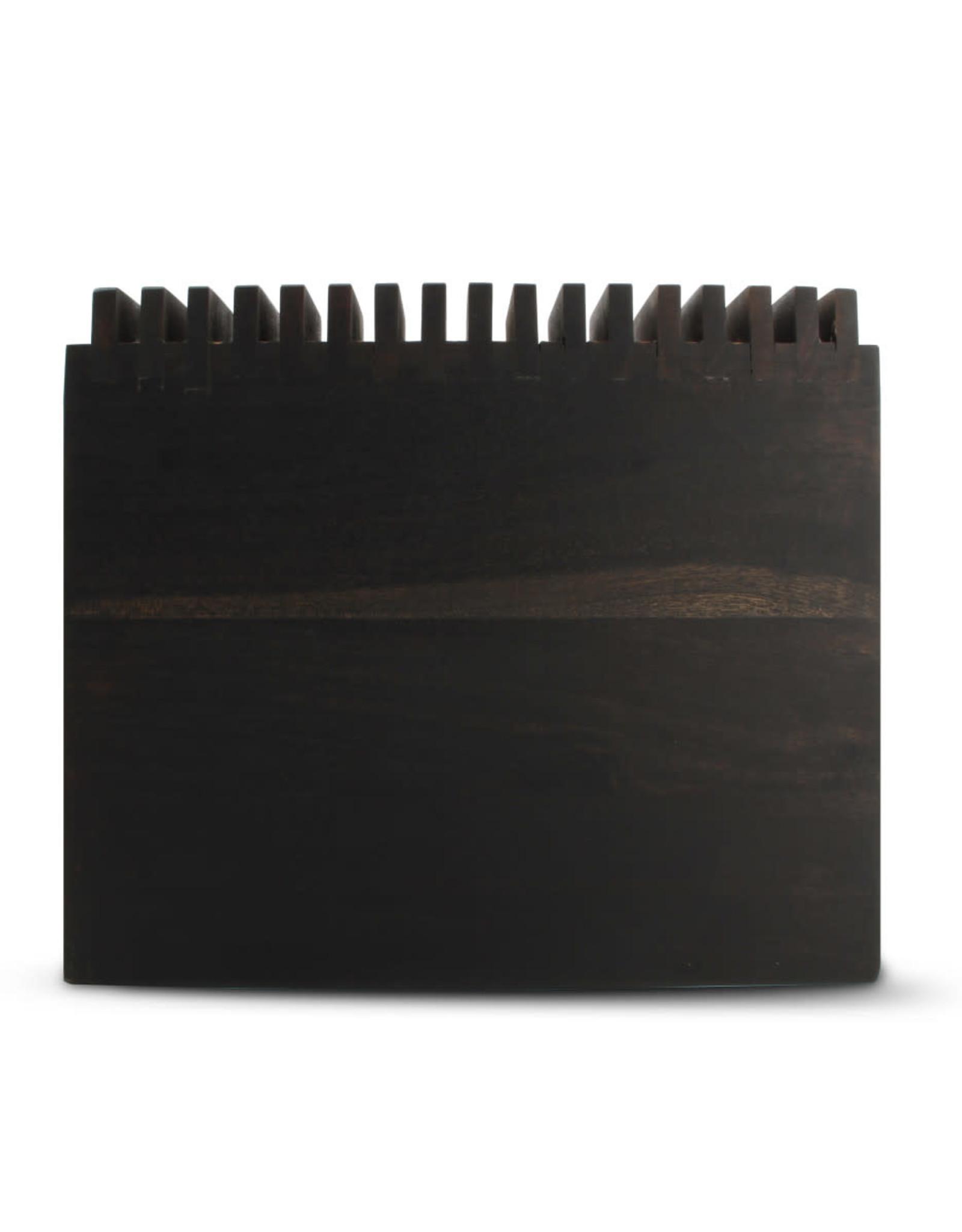 Messenblok - Dark Wood