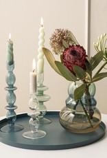 Kandelaar Glass Art Rings M - green