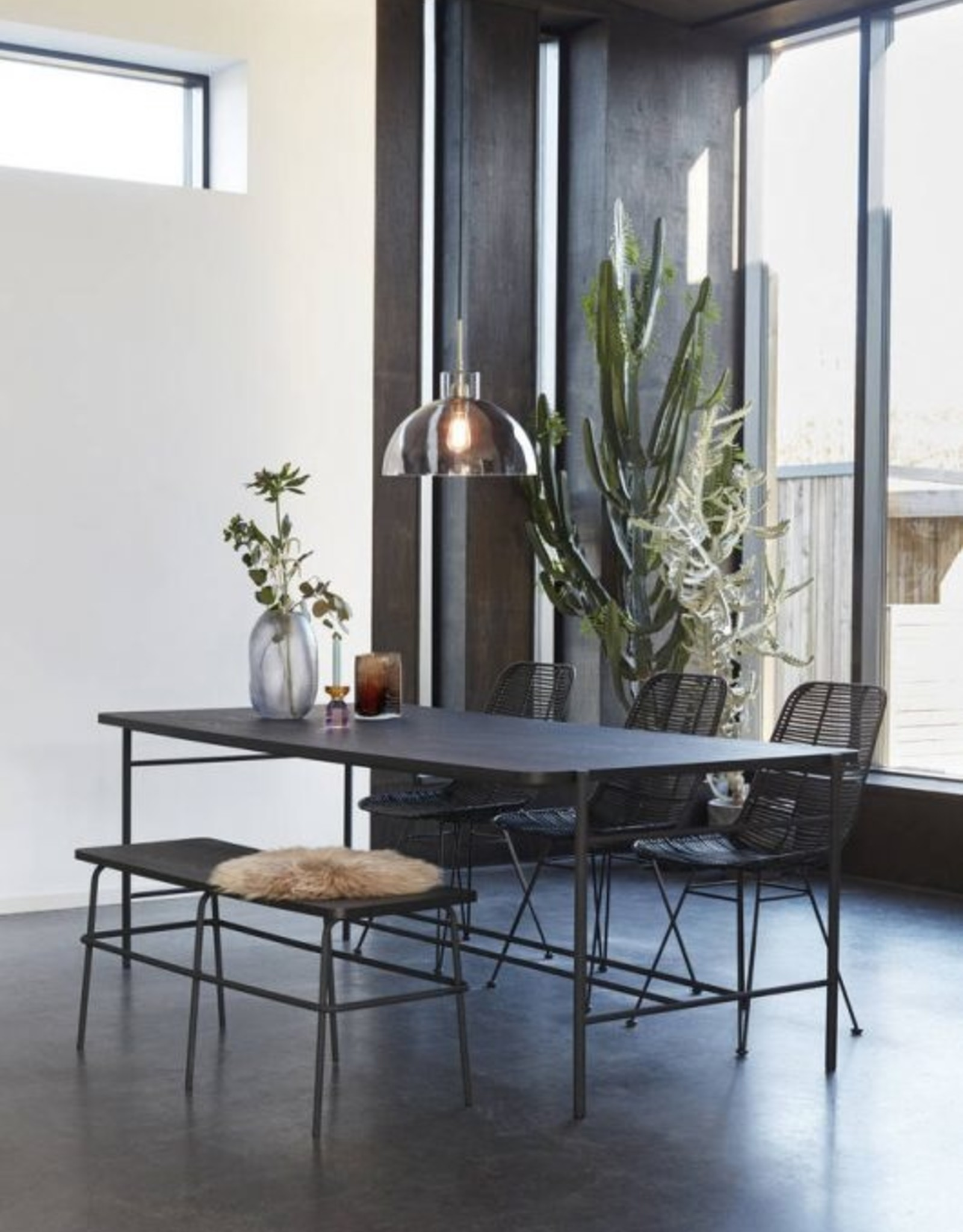 XL Vaas - Organic Glass