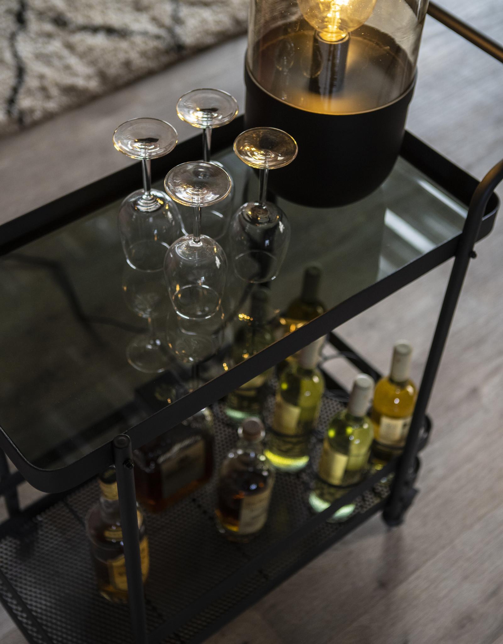 Serveertafel - Bar on Wheels