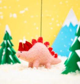 Kersthanger Vilt - Santa Hats Dinosaur