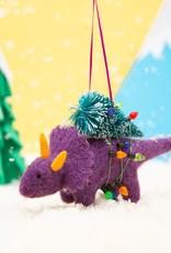 Kersthanger Vilt - Christmas Dinosaur