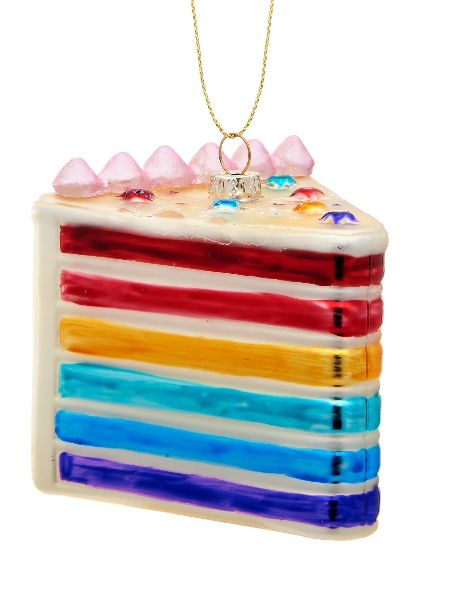 Kersthanger - Rainbow Cake