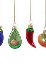 Kersthanger set v 4 - Vegetables