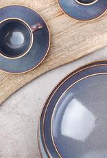 Ontbijtbord Ø21 cm Blue Ombre Glaze