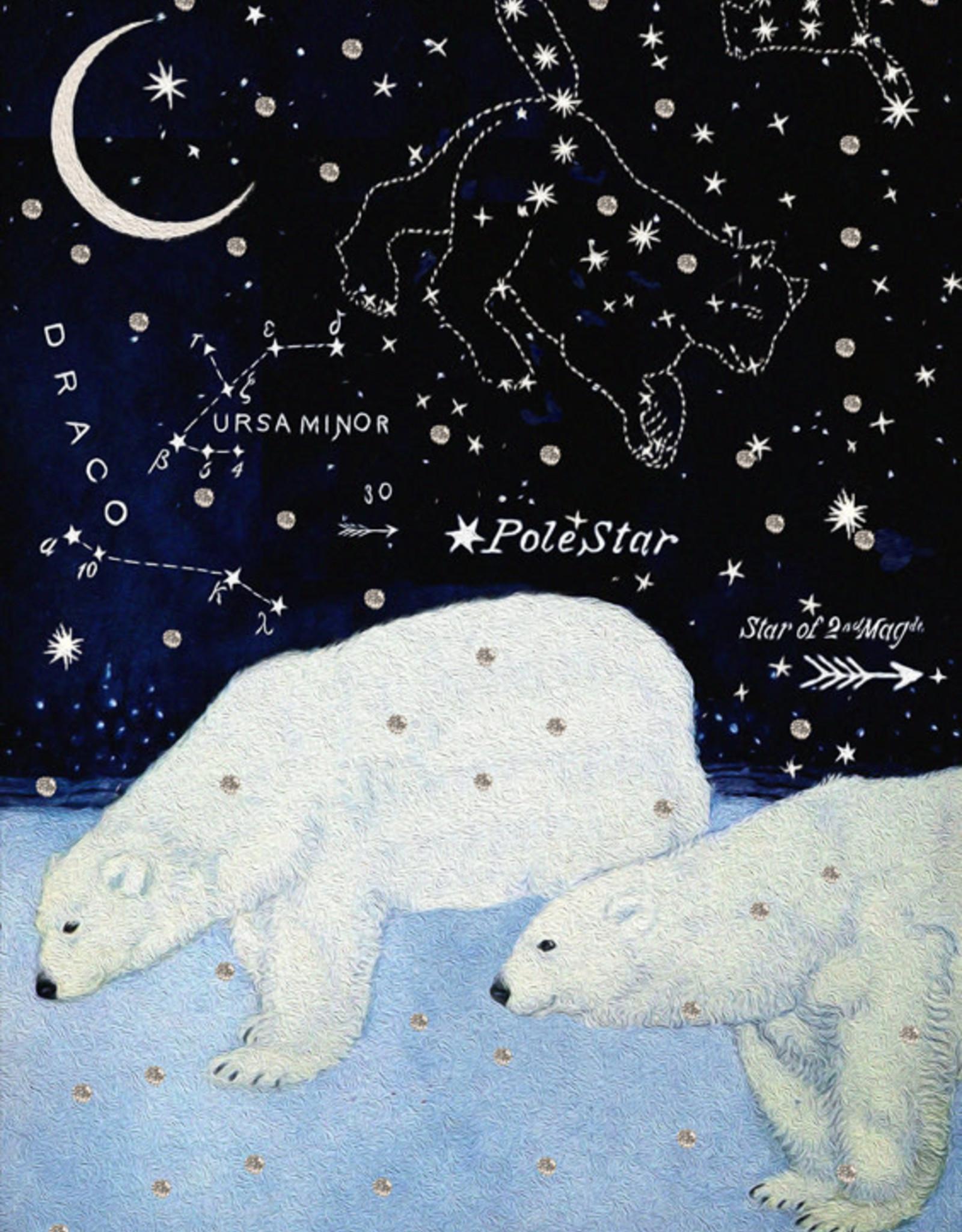 Madame Treacle Kaart met glitter 'Star bears'