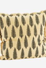 Kussenhoes Fringe feathers - Beige 50 x 50