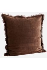 Kussensloop Corduroy Chestnut 50 x 50