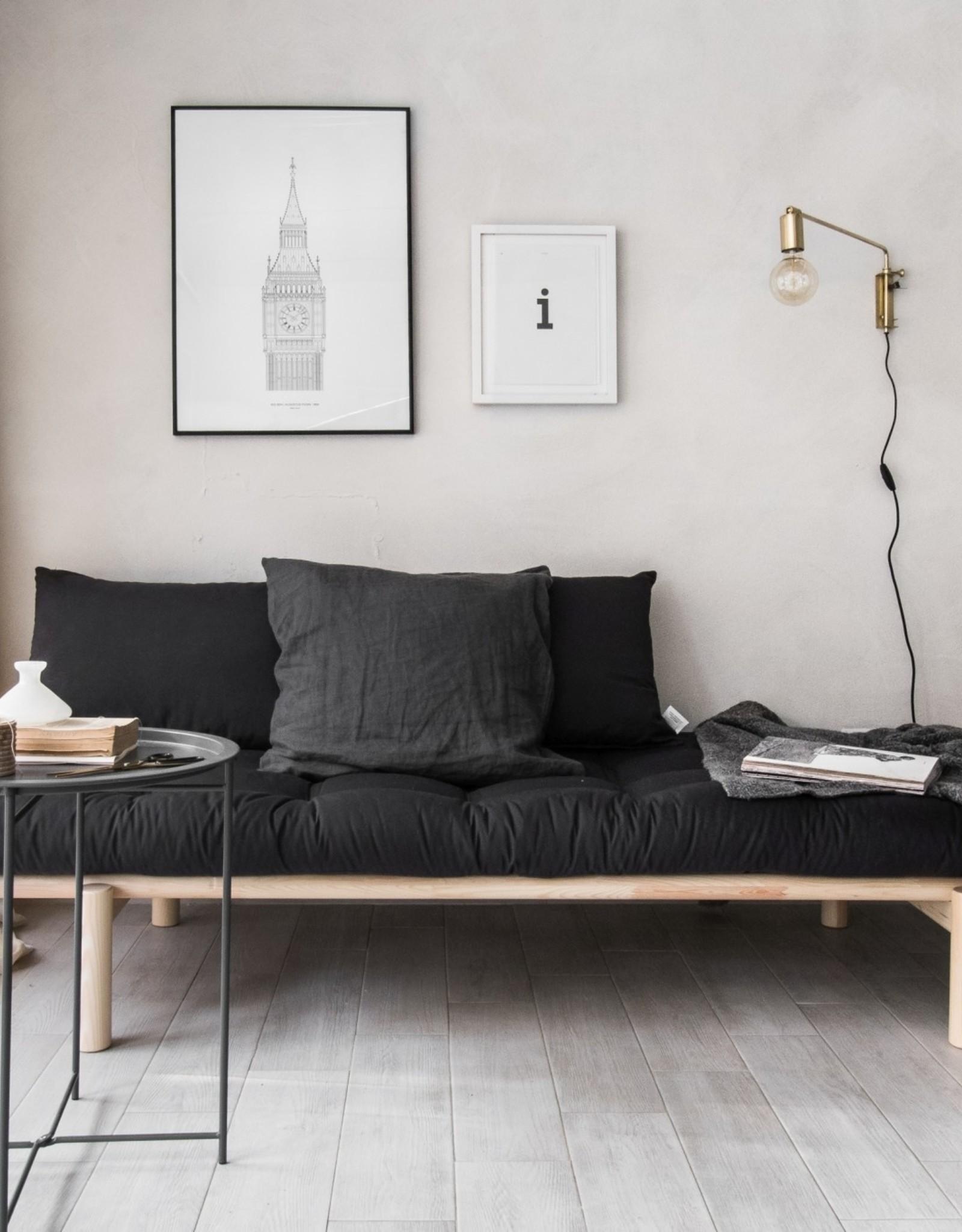 Karup Design Daybed Pace - Transparant Donkergrijs - Direct Leverbaar
