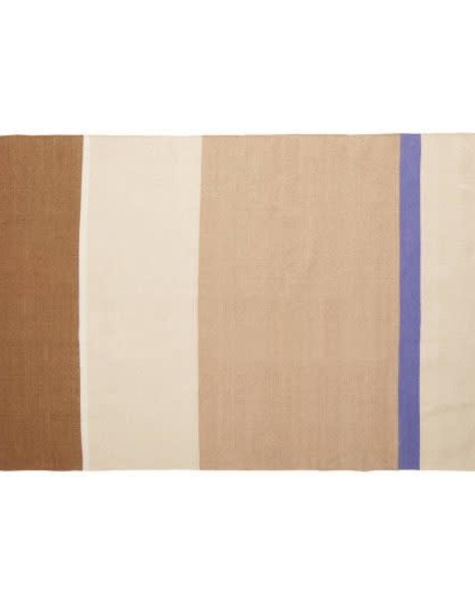Hübsch Vloerkleed 120 x 180 cm - beige/sand/lila