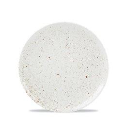 F2D Plat bord 20,5cm white Terrene