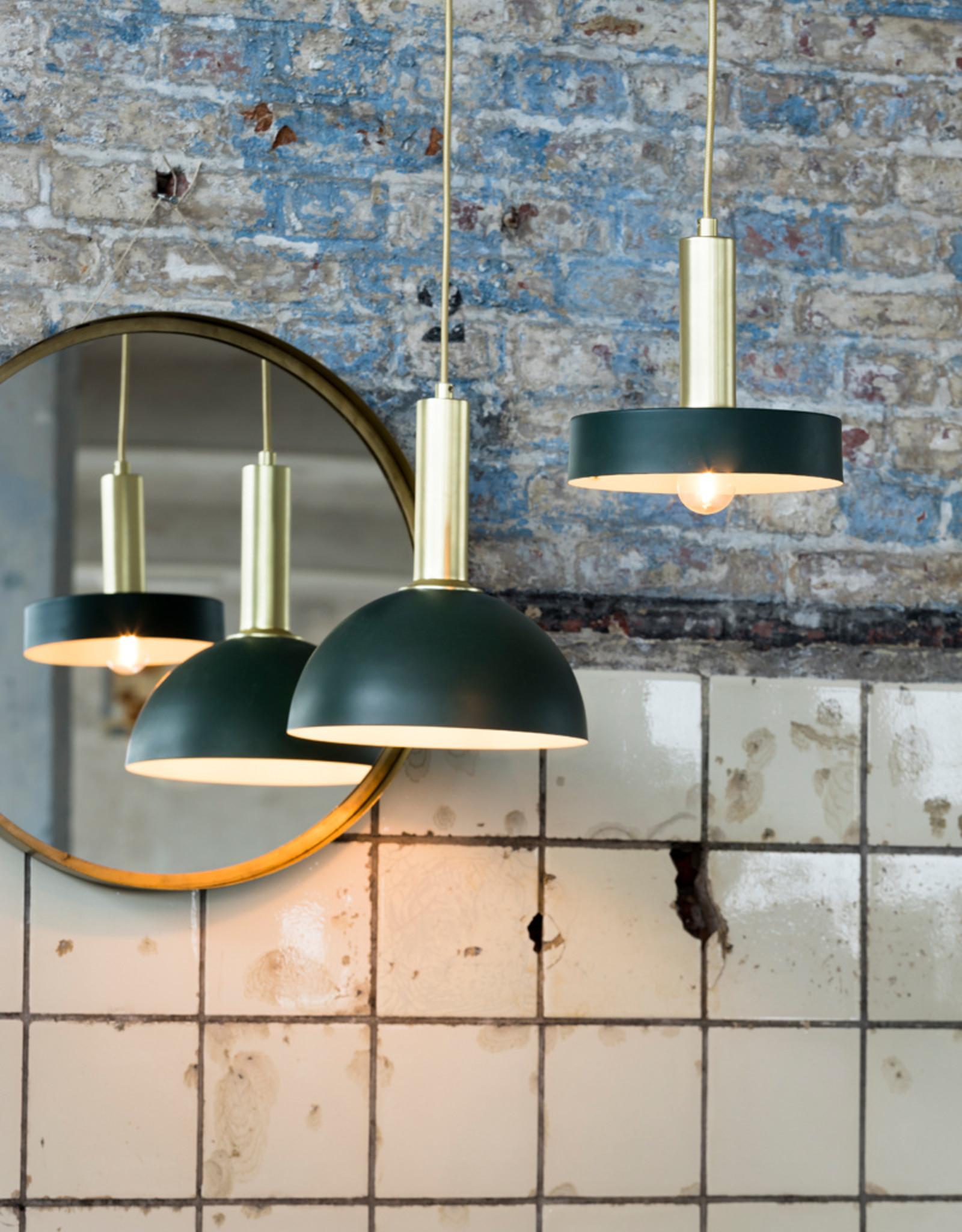 Hanglamp Green & Gold