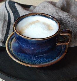 F2D Kop 28cl blue Nova Cappuccino