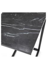 Bijzettafel Sofa Black Marble
